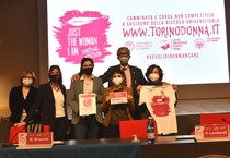 Covid: Just The Woman I Am, Torino corre online (ANSA)